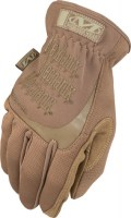 Gants de protection de sécurité FASTFIT COVER manchette élastique Coyote Mechanix wear SOLUPROTECH